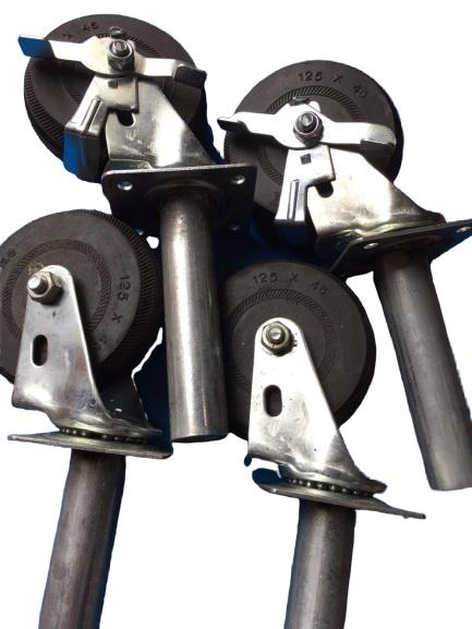 Bánh xe giàn giáo | Bánh xe giàn giáo chịu lực - Bánh xe giàn giáo có khóa
